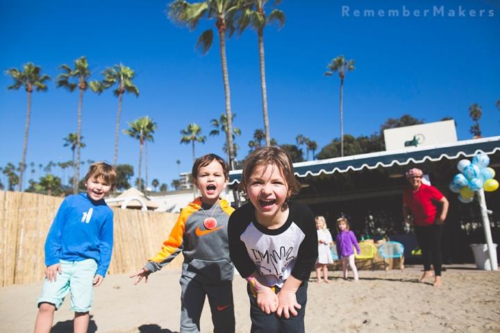 Jonathan Club Beach Celebration | Birthday Party Photography SantaMonica