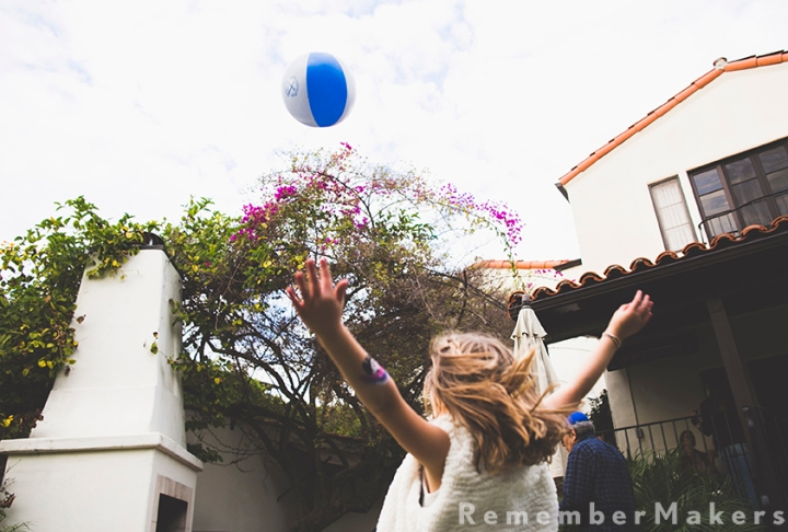 A Backyard in Santa Monica | Birthday Party Photographer Los Angeles