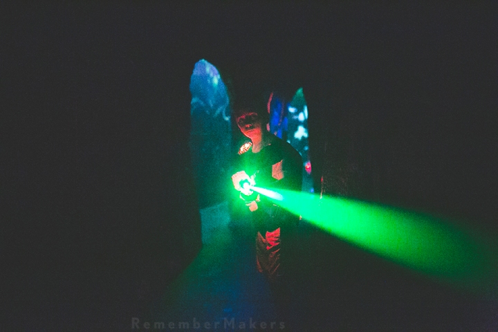 Laser Tag Birthday | Kids Party Photography Los Angeles | Ultrazone Sherman Oaks