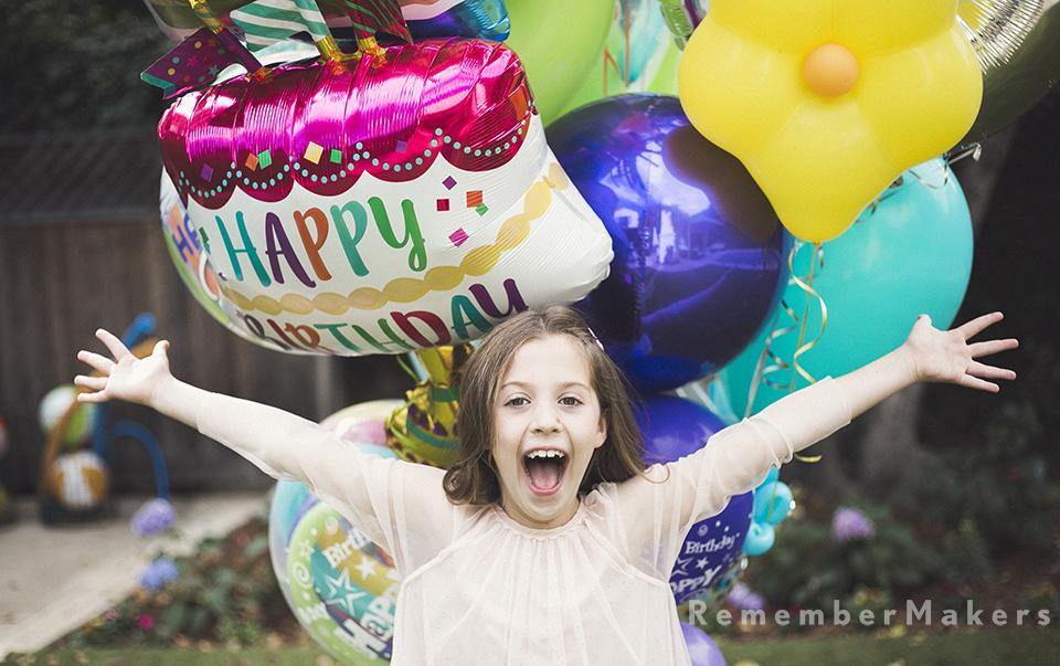 kids birthday party photography santa monica girls