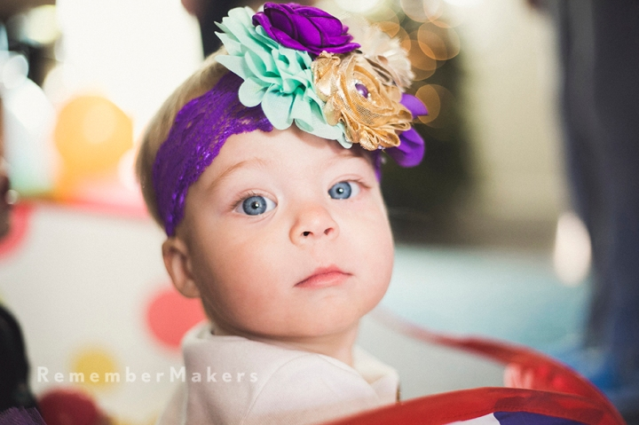 Miss Blue Eyes | Lily's 1st | Kids Birthday Party Photography Los Angeles