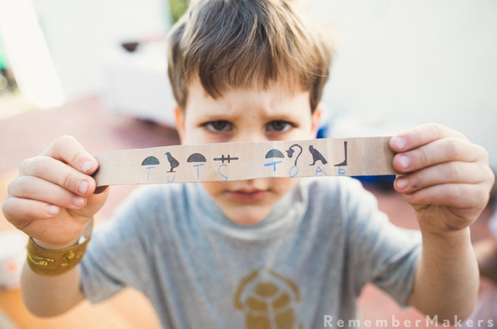 How to Party Like an Archaeologist | Noah's 6th Birthday | Kids Party Photography SantaMonica