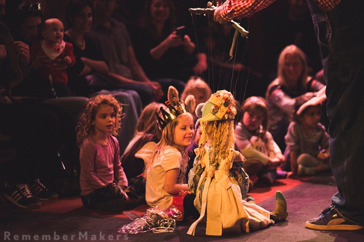 Frankie Turns 5 | Birthday Bash at Bob Baker Marionette Theater | Kids Party Photography Los Angeles